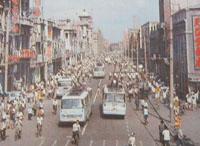 从公交形态的变化看沈阳中街商业区的发展